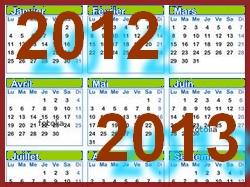 calendrier2012-2013